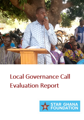 End of Project Evaluation Report - Local Governance Call