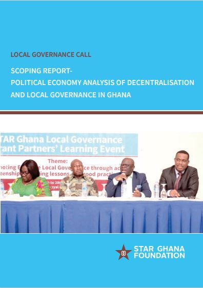 Scoping Report - PEA of Decentralisation Local Governance in Ghana