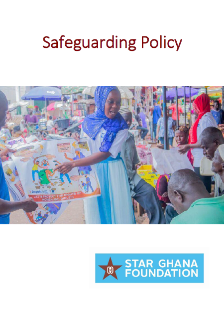 STAR-Ghana Foundation Safeguarding Policy